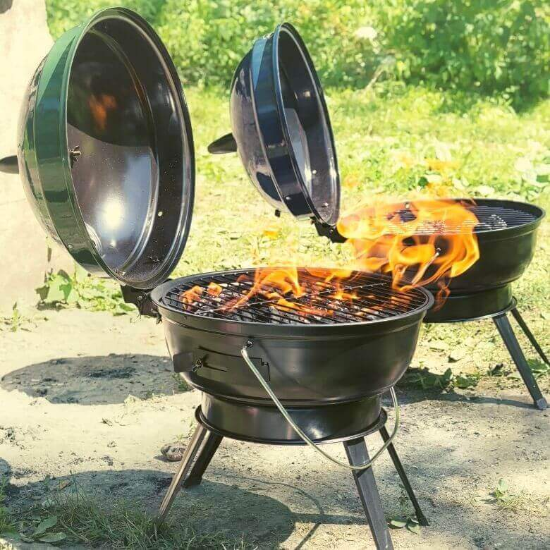 Portability of grill