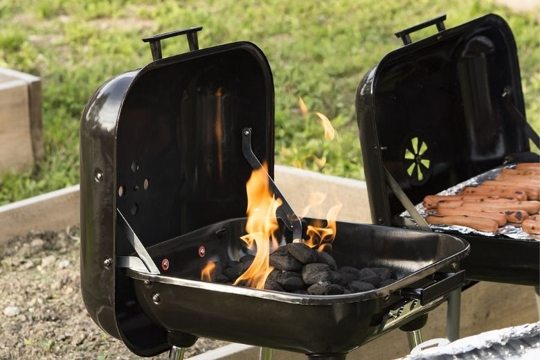 Charcoal grill preparation